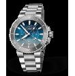 Reloj Oris Aquis Dat Watt Edición Limitada 01 761 7765 4185-Set automático de acero para hombre