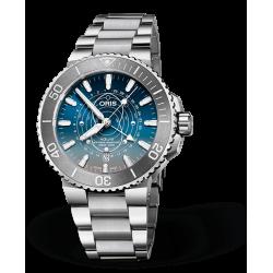Reloj Oris Aquis Dat Watt Edición Limitada automático de acero para hombre
