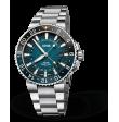 Reloj Oris Aquis Whale Shark Edición Limitada 01 798 7754 4175-Set automático de acero para hombre