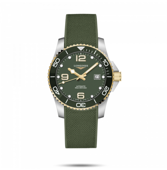 Reloj Longines Diving HydroConquest L3.781.3.06.9 automático de acero para hombre
