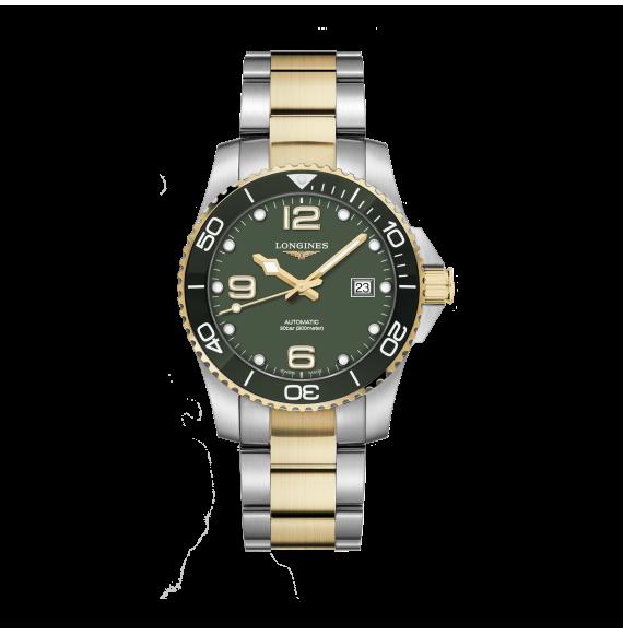 Reloj Longines Diving HydroConquest L3.781.3.06.7 automático de acero para hombre
