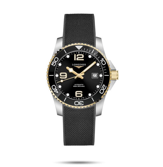 Reloj Longines Diving HydroConquest L3.781.3.56.9 automático de acero para hombre