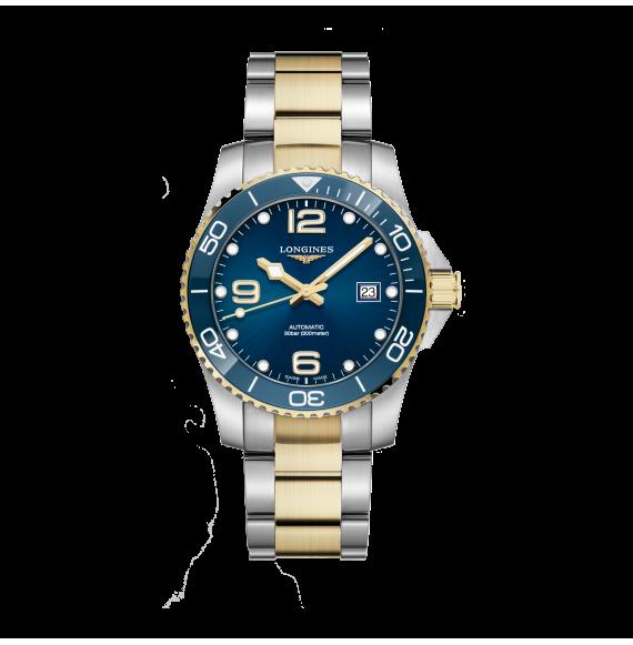Reloj Longines Diving HydroConquest  L3.781.3.96.7 automático de acero para hombre