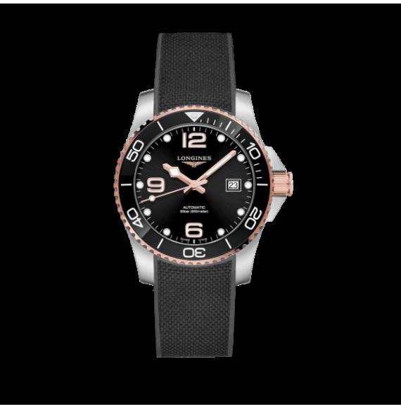 Reloj Longines Diving HydroConquest  L3.781.3.58.9automático de acero para hombre