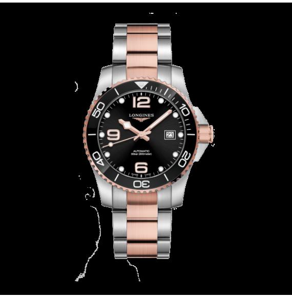 Reloj Longines Diving HydroConquest  L3.781.3.58.9 automático de acero para hombre