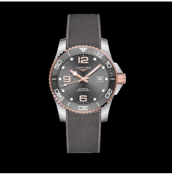 Reloj Longines Diving HydroConquest L3.781.3.78.9 automático de acero para hombre