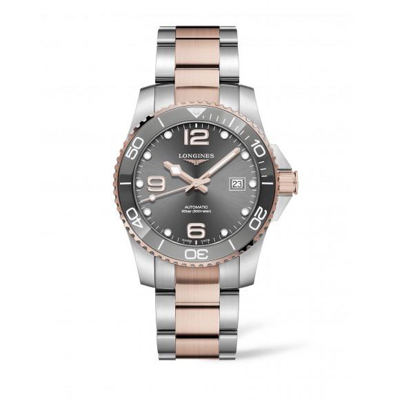 Reloj Longines Diving HydroConquest  L3.781.3.78.7automático de acero para hombre