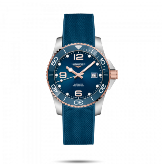 Reloj Longines Diving HydroConquest L3.781.3.98.9 automático de acero para hombre