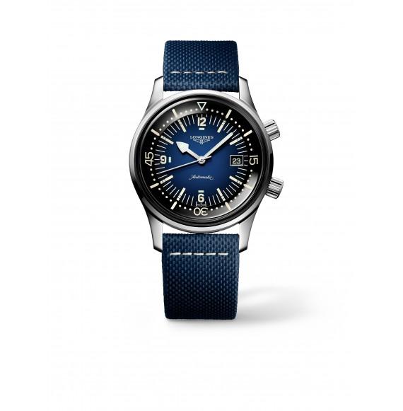 Reloj Longines Diving Legend Diver Watch L3.774.4.90.2 automático de acero para hombre