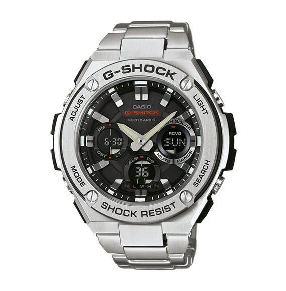 Reloj Casio G-Shock GST-W110D-1AER solar de acero para hombre