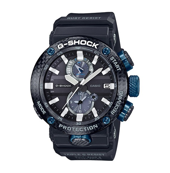 Reloj Casio G-Shock GravityMaster GWR-B1000-1A1ER solar de resina y carbono para hombre