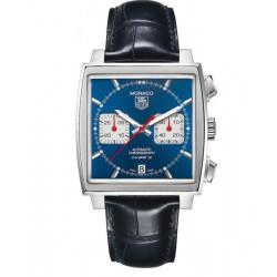 Reloj acero Tag Heuer Monaco automático con cronógrafo para hombre