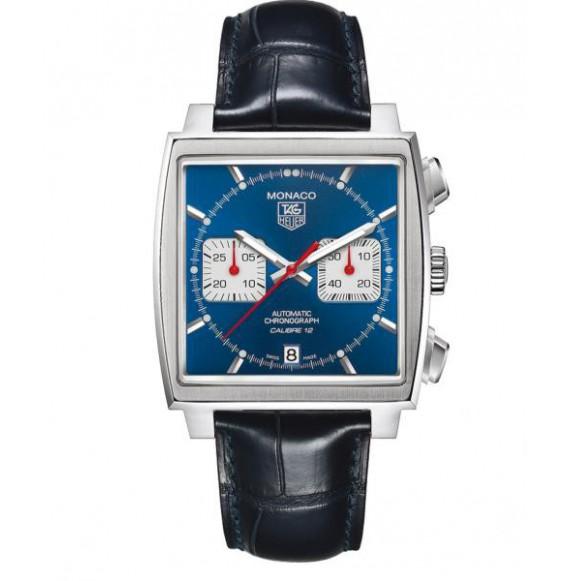 Reloj acero Tag Heuer Monaco CAW2111.FC6183  automático con cronógrafo para hombre