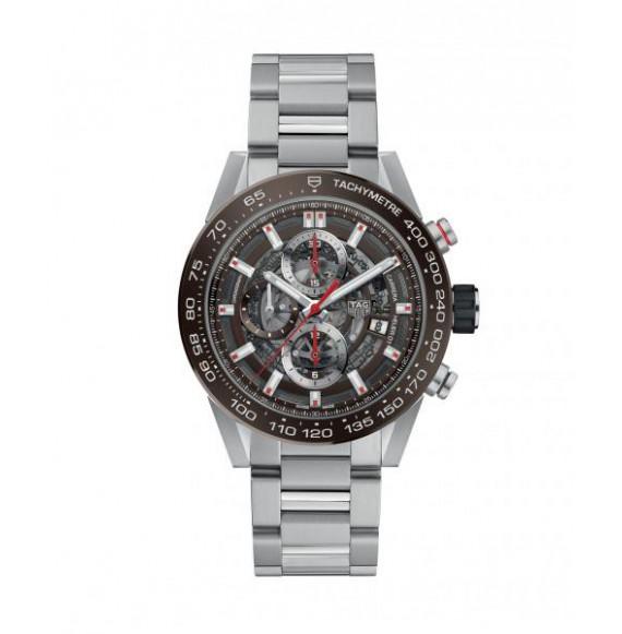 Reloj acero Tag Heuer Carrera CAR201U.BA0766 automático con cronógrafo para hombre