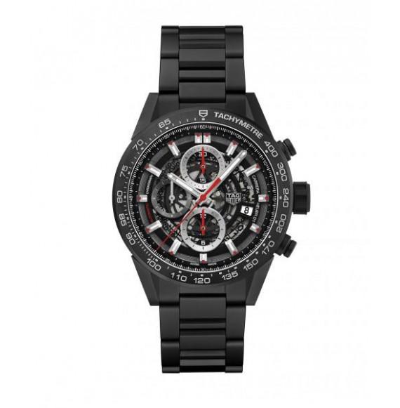 Reloj de cerámica arenadaTag Heuer Carrera CAR2090.BH0729 automático con cronógrafo para hombre.