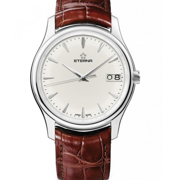 ETERNA VAUGHAN BIG DATE WHITE DIAL