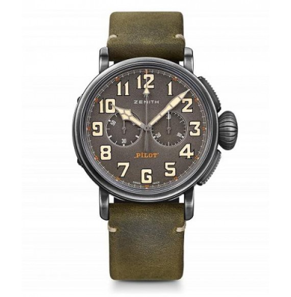ZENITH PILOT TYPE 20 CHRONOGRAPH 45 MM TON-UP.
